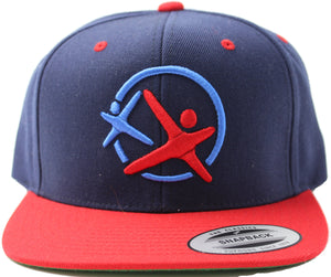 LatinoAthlete Snapback Blue & Red