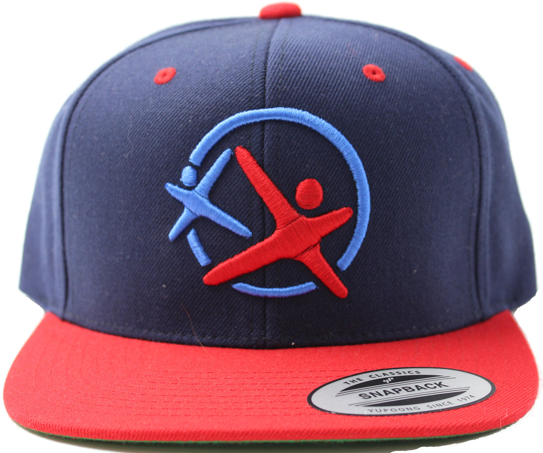 LatinoAthlete Snapback Blue & Red - SOLD OUT