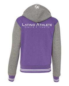 Ladies Varsity Sweatshirt Jacket