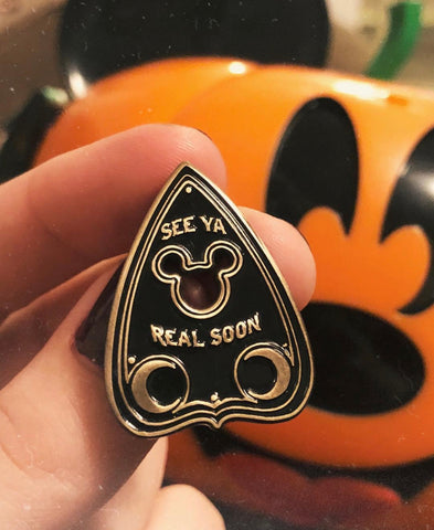 See Ya Real Soon Planchette Pin