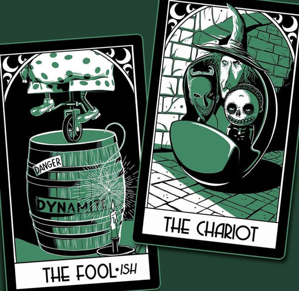 Haunted Holiday Tarot Pack