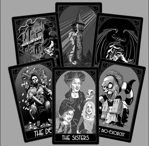 Black Series Tarot Pack