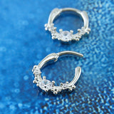 CZ Diamond Flowered Septum Ring