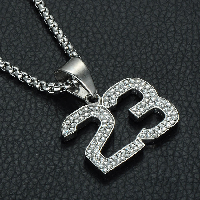GOAT Diamond Necklace #23