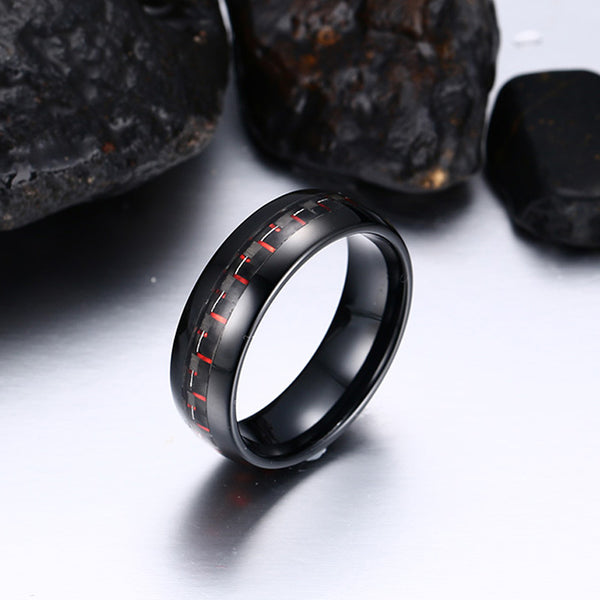 TC Red Stitch Ring