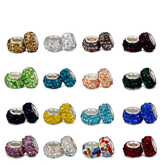 Colorful Rhinestone Charm