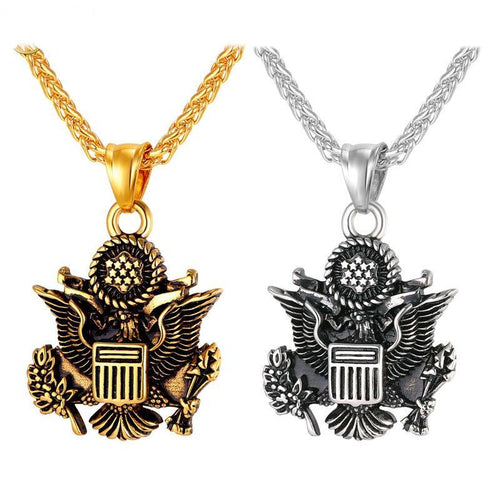 Navy Seals Pendant Necklace