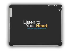 """Listen to Your Heart"" Official iPad Cases"