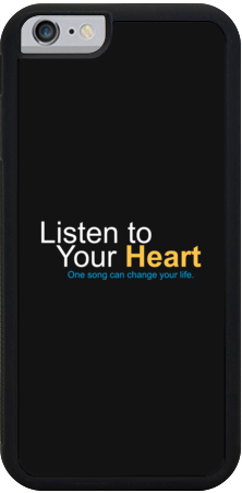 """Listen to Your Heart"" Official iPhone Cases"