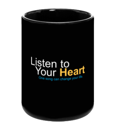 """Listen to Your Heart"" Official Mugs"