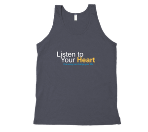 """Listen to Your Heart"" Official Tank Tops"
