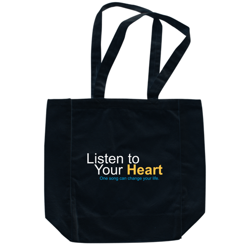"""Listen to Your Heart"" Official Totebags"