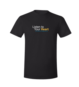 """Listen to Your Heart"" Official T-Shirt"