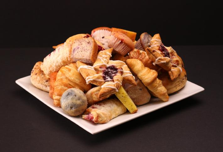 Continental Breakfast Trays