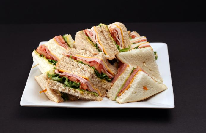 Sandwiches  (assortment on white and whole wheat bread)