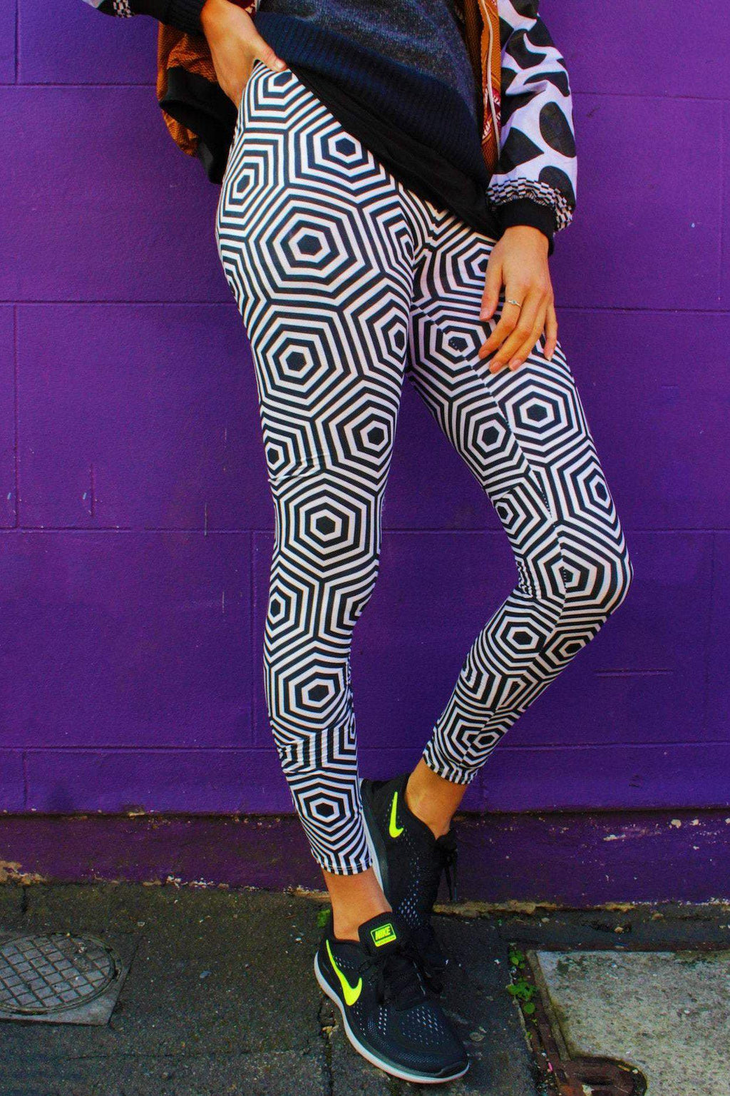 Day Tripper Leggings //Psychedelic Leggings //Crazy Leggings //Festival Pants //Meggings //Colourful leggings // Hippy // Patterned Leggings