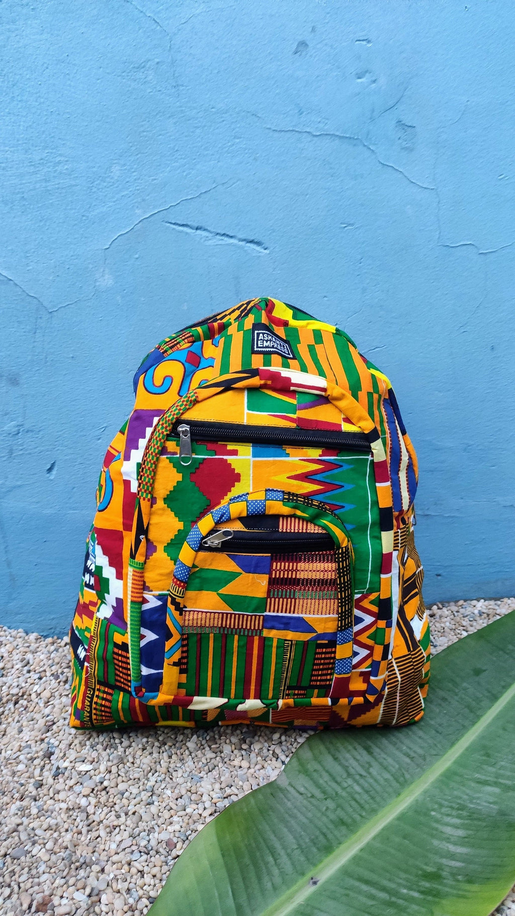 Kente Patchwork Backpack, Recycled Backpack, African Printed Backpack, Colorful Backpack, Ankara Backpack, Rucksack Backpack, College Bag