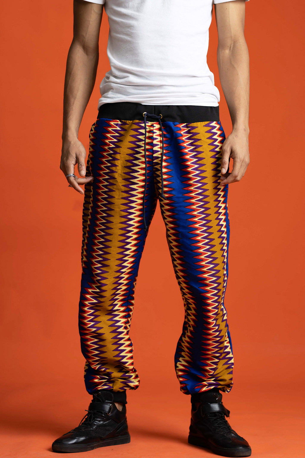 Lounge Pants, Zig Zag Print Pants, Men African Trousers, Festival Clothing, Loose Pants, Summer Trousers, Rave Party Clothing,Hippie Pants