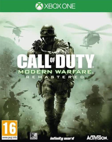 Call of Duty: Modern Warfare Remastered Xbox One