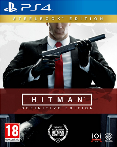 Hitman: Definitive Edition (Day One Steelbook) PS4