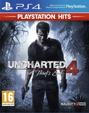 Uncharted 4: A Thief's End PS4 Hits