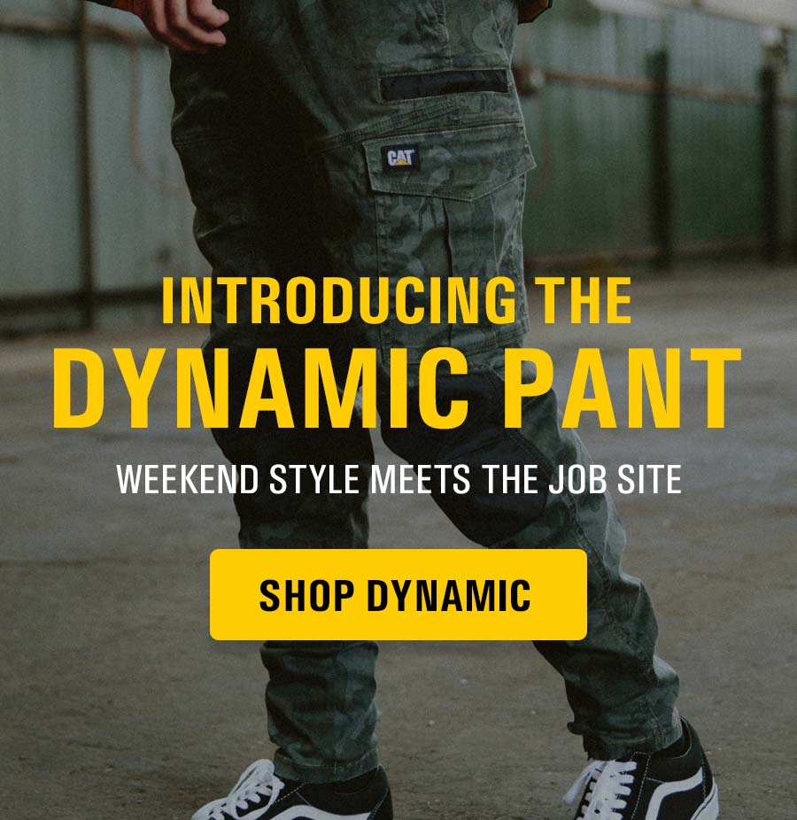 Introducing the all new Dynamic Pant from Caterpillar Workwear.
