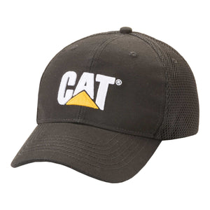 Caterpillar Men's Active Mesh Stretch Cap Black
