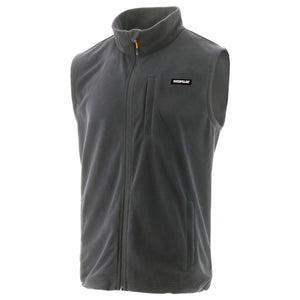 Caterpillar Men's Concord Fleece Vest Dark Shadow