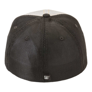 Caterpillar Men's Power Mesh Stretch Cap Light Grey