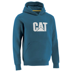 Mens Trademark Hooded Sweatshirt in Dark Heather Grey