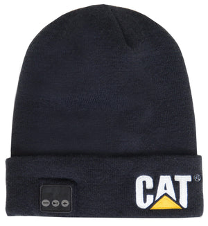 Mens Bluetooth Beanie in Black