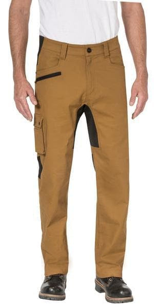 Mens Operator Flex Trouser in Bronze - Front View