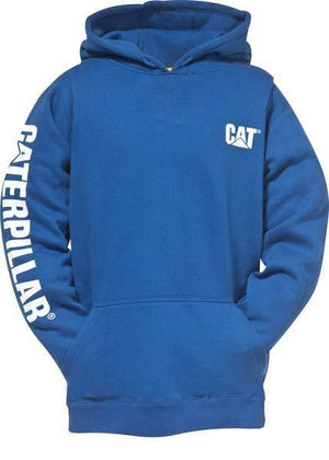 Mens Trademark Banner Hooded Sweatshirt in Bright Blue