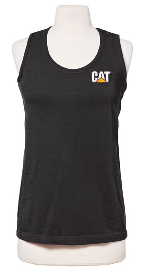 Womens Cleo Tank Top in Black