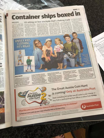 Five + Knux in the Courier Mail (8-5-21)
