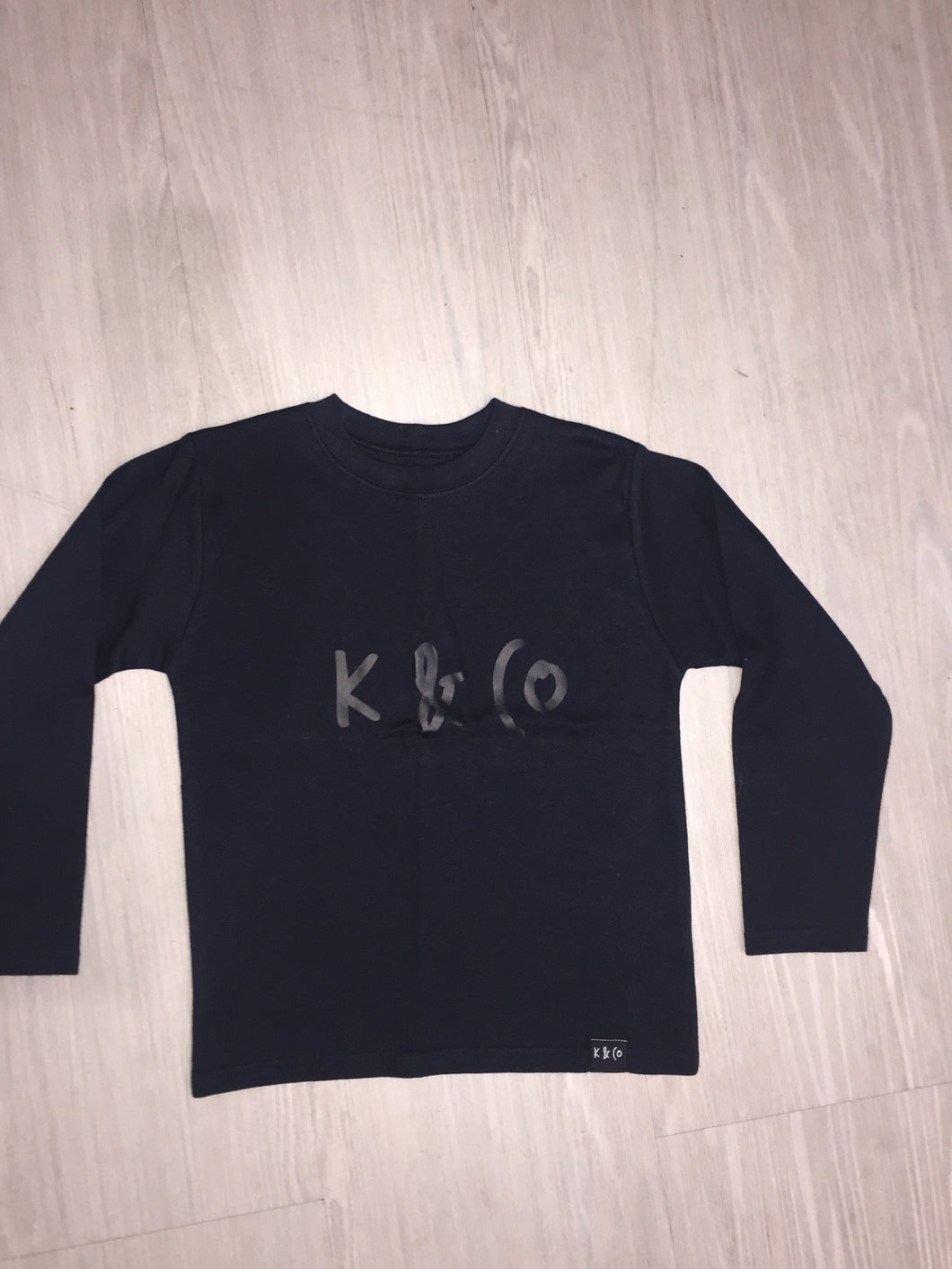 BLACK ON BLACK K & CO (LONG SLEEVE) - FIVE&KNUX