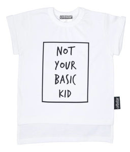 NOT YOUR BASIC KID - WHITE