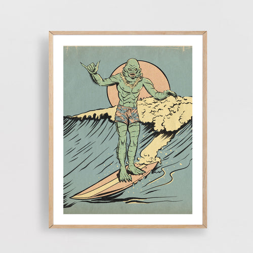 Creature Surfer