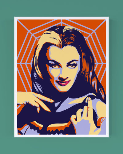 Lily Munster Portrait