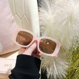 Thick Frame Chunky Square Oversized Shade - Earthy Eye Wear
