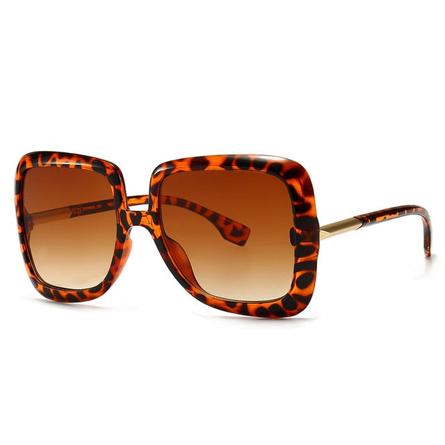 Retro Oversized Gigi Style Fashion Sunglasses - Earthy Eye Wear