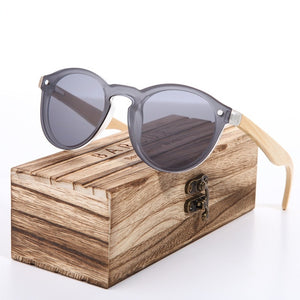 Cat Eye Wood Bamboo Sunglasses - Earthy Eye Wear