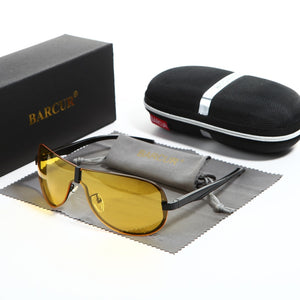 Night Driving Sunglasses Yellow Lens Night Vision - Earthy Eye Wear