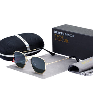 Classic Retro Reflective Sunglasses Man - Earthy Eye Wear