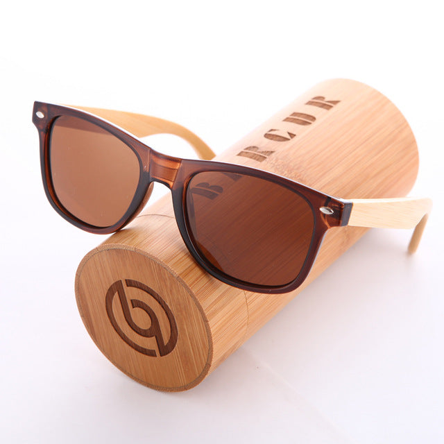 Fashion Bamboo Polarized Sunglasses Wooden - Earthy Eye Wear