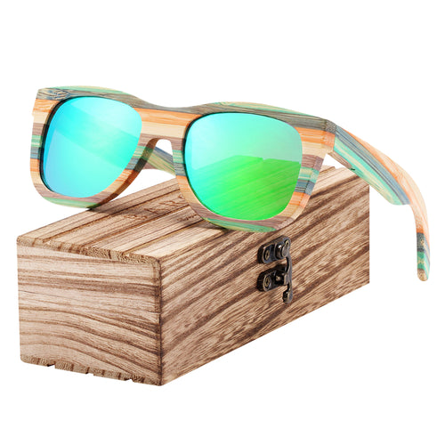 Gradient Women Sunglasses Bamboo - Earthy Eye Wear