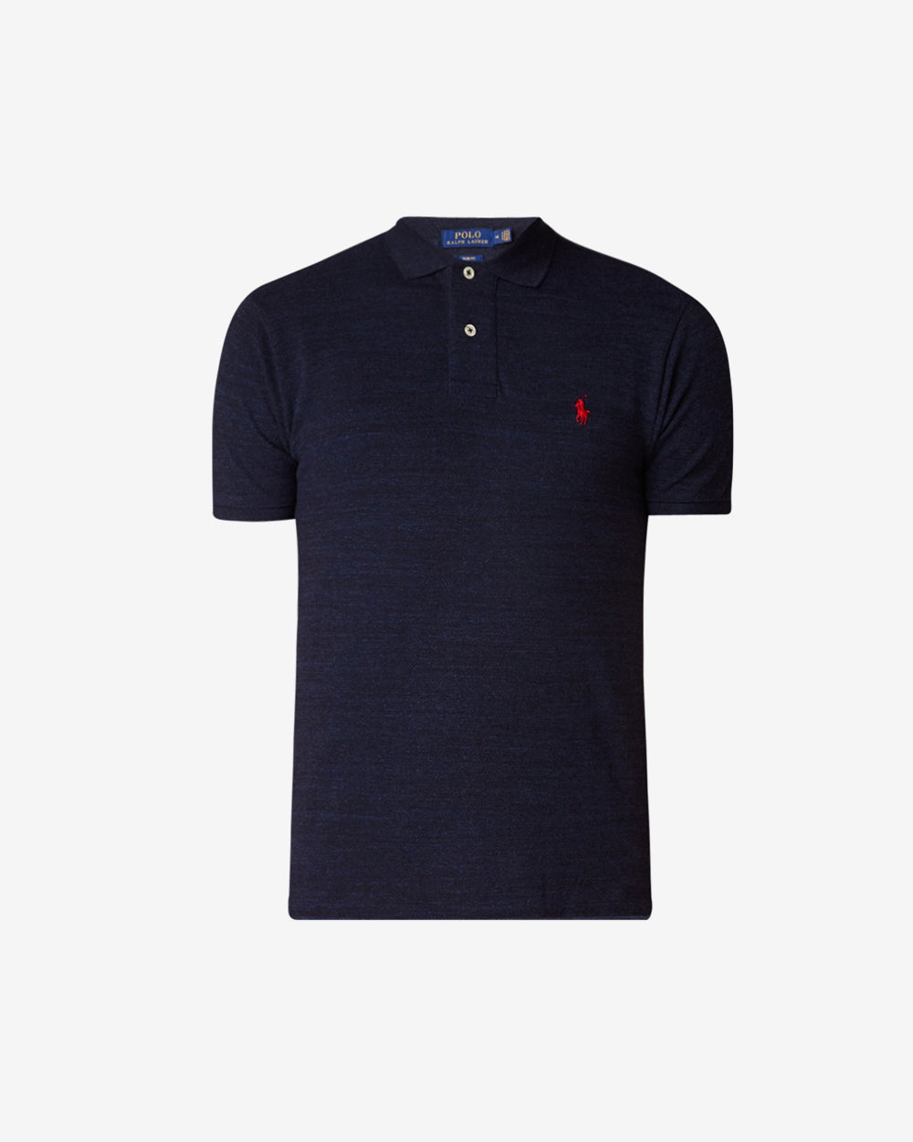 Slim fit polo van piqué
