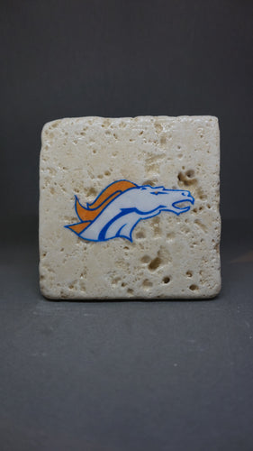Denver Broncos Coaster (4-Pack)
