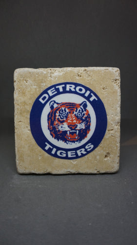 Detroit Tigers Coaster (4-Pack)
