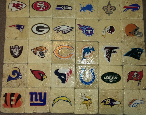 Complete NFL Team Coaster Set (32-Pack)